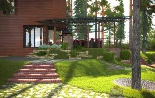 Дизайн частного дома Сокол качественно